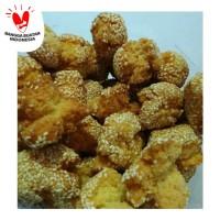 Snack Camilan Traditional Onde-Onde Wijen / Kue Ketawa