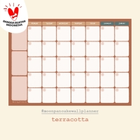 Moon Pancake Wall Monthly Planner Board