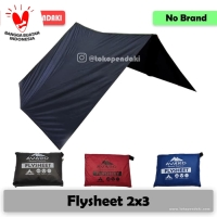 Flysheet 2x3 Traptent Tenda Darurat Waterproof 3x2