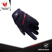INVENTZO Imperio Black - Sarung Tangan Motor Sensitive Touch Tip