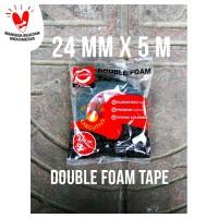 Daimaru Double Foam Tape 24 mm x 5 Meter Hijau / Merah