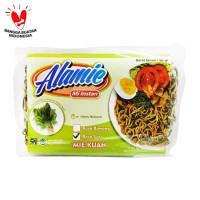 Alamie - Mie Bayam Hijau Kuah Soto 50gr - Mie Sehat