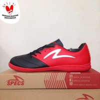 Sepatu Futsal Specs Storm 19 IN Black Emperor Red 400841 Original BNIB
