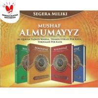 Al Quran Al Mumayyaz BESAR A4 - Terjemahan & Tajwid per Kata - Warna