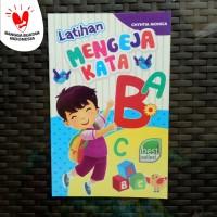 Buku Anak TK PAUD - Latihan Mengeja Kata, belajar membaca