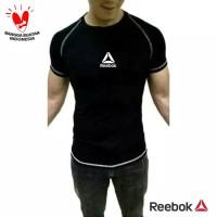 CPC REEBOK Kaos Running Training / Baju gym fitness pria compression