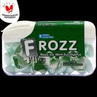 FROZZ Mint Eucalyptus bebas gula rendah kalori & dingin menyegarkan