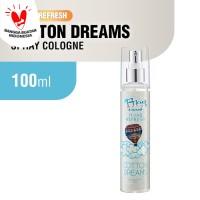 Fres And Natural Spray Cologne Hijab Refresh - Cotton Dreams