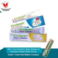 Buy Kinderen Package Free Alat Makan Compact
