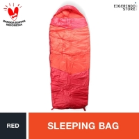 Eiger Lake Side Sleeping Bag - Red