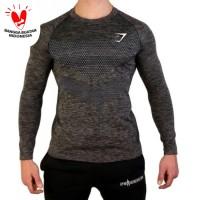 LENGAN PANJANG RBK SIRO kaos gym fitnes pria training running olahraga