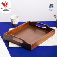 Mikaela Walnut Tray / Tatakan Kayu / Nampan Kayu / Wooden Tray