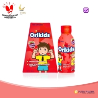 Orikids Strawberry - Multivitamin Lengkap Penambah Nafsu Makan Anak