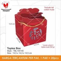 TBL145145   CNY. edisi imlek. Toples Box. kotak kue.packanging