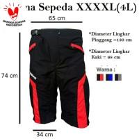 Celana Sepeda Big Size XXXXL