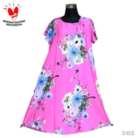 Daster Mega | Dress Vega Payung | Baju Midi Tidur | flower 1291
