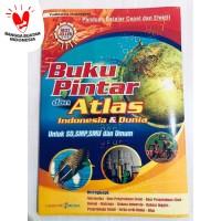 Buku Pintar Dan Atlas Indonesia & Dunia Untuk SD. SMP. SMU Dan Umum