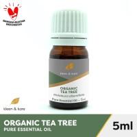 Organic Tea Tree Essential Oil 5ml |100% Pure & Natural | Aromatherapy