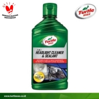 TURTLE WAX HEADLIGHT CLEANER & SEALANT - PEMBERSIH HEADLAMP PENGKILAP