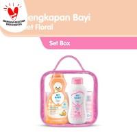 My Baby Set Perlengkapan Bayi - Sweet Floral Pink