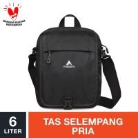 Eiger Posseidon Shoulder Bag 6L - Black / Tas Selempang Pria