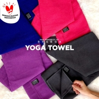 Yoga Mat Towel with Bag Anti Slip, Anti Bacterial Washable