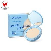 Wardah Lightening Powder Foundation Light Feel 06 Ivory 12 gr