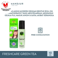 FreshCare Aromatheraphy Green Tea - Atasi Gejala Masuk Angin, Pegal