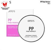 Ertos Pink Perfect Whitening Cushion Bedak Ertos Cushion Highlighter