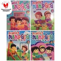 Buku Praktis Membaca 1-4 , Belajar Membaca untuk PAUD TK dan SD