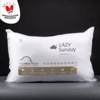 Bantal Microfiber Bulu Angsa Grade A - LAZY Sunday -