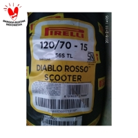 BAN PIRELLI XMAX DIABLO ROSSO SCOOTER UK 120/70 RING 15