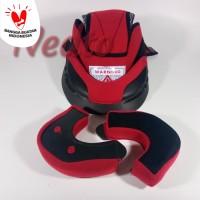 Busa helm KYT DJMARU (Full Set) (Kancing Plastik)