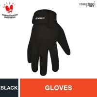 Eiger Riding New Basic Full Gloves - Black XL