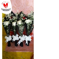 Buket bunga mawar satuan | bunga mawar asli | flower bouquet
