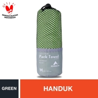 Eiger Pack Towel - Green M
