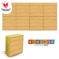 IMAGE TOYS edumat karpet matras evamat puzzle tikar Wood Printing[8lbr