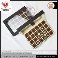 EXCLUSIVE LEATHER RING BOX   TEMPAT CINCIN   KOTAK CINCIN   BOX CINCIN
