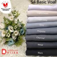 Hijab Jilbab Segiempat Polos Voal Basic By Umama Scarf - Putih