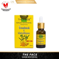 Serum Wajah Whitening Temulawak The Face - The Face Serum Whitening