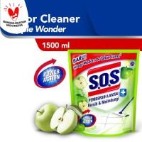 SOS Pembersih Lantai Apple Wonder Refill [1500 ML]