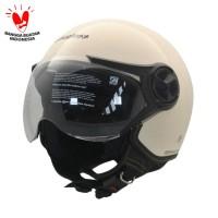 Cargloss YR HC Ghotic Helm Half Face - Avorio Naide