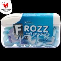 FROZZ Barley Mint permen bebas gula rendah kalori & dingin menyegarkan
