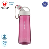 LOCK&LOCK Botol Air Minum Water Bottle 1.3L With Handle HLC953PIK
