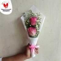 Bunga Wisuda | Buket Bunga | Bunga Mawar Segar | Kado Wisuda
