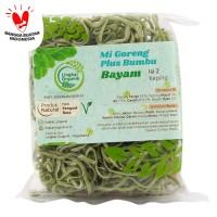 Lingkar Organik - Mie bumbu Bayam - 85 gr - Mie Tanpa MSG - Organik