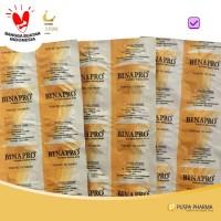 Binapro (Strip) - Suplementasi asam amino untuk memelihara kesehatan