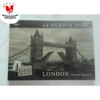 Buku Gambar Sketch Book Kiky A4 50 Lembar