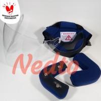 Busa helm INK CX 22, Busa INK CX22 (Full set + Kaca) - Hitam