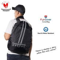 FUNCOVER Bag | Cover Bag | Bagpack | Jas Hujan Ransel 30 l